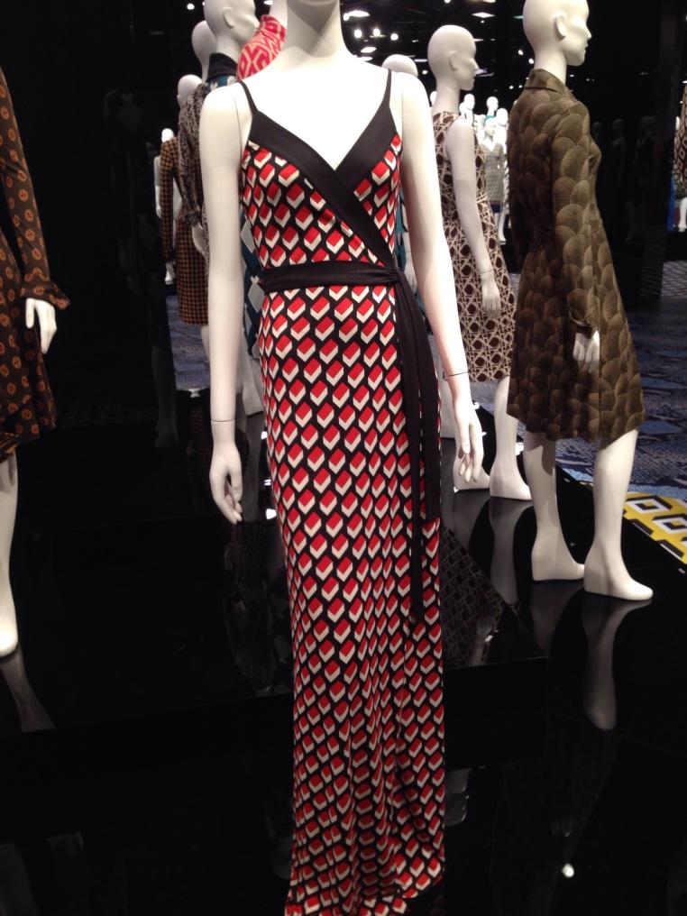 Diane Von Furstenberg, Journey of a Dress, wrap dress, LACMA