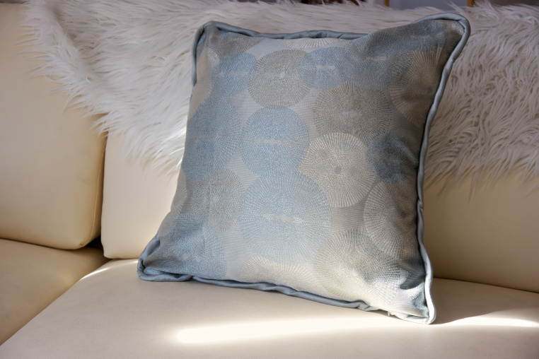 Art Deco, Sunburst, pillow